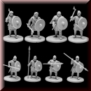 V & V Miniatures: SKU - R28.12 The Anglo-Saxons 4: Ceorls