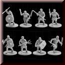 V & V Miniatures: SKU - R28.13 The Anglo-Saxons 5: Geburs
