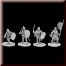 V & V Miniatures: SKU - R28.14 Vikings Lady`s