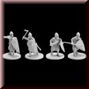 V & V Miniatures: SKU - R28.15 Norman infantry