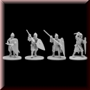 V & V Miniatures: SKU - R28.17 Norman infantry 2