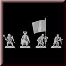 V & V Miniatures: SKU - R28.25 Crusaders 1 28mm