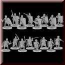 V & V Miniatures: SKU - R28.26 Crusaders 2 28mm