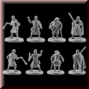 V & V Miniatures: SKU - R28.29 Pilgrims II 28mm