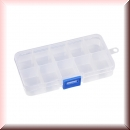 Assortment Box transparent with 10 compartments