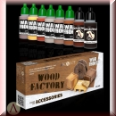 SCALE 75 - Scale Color SSE-068, WOOD FACTORY Farbset