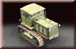 Trumpeter 1/72 Russian ChTZ S-65 Tractor with Cab (757111)