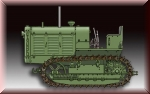 Trumpeter 1/72 Russian ChTZ S-65 Tractor (757112)