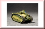 Trumpeter: French Char B1 Heavy Tank 07263