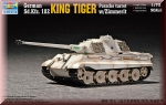 Trumpeter: German King Tiger Porsche Turret w/Zimmerit 07292