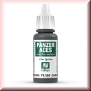 Vallejo Panzer Aces: 70306 Dark Rubber, 17ml