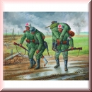 Zvezda 6143: WWII German Medical Personnel 1941-43 1:72