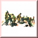 Zvezda 6147: WWII Soviet 120-mm Mortar with Crew 1:72
