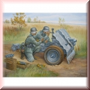 Zvezda 6156: WWII German 75-mm Infantry Gun 1:72