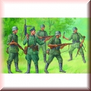 Zvezda 6178: German regular infantry 1939-1943